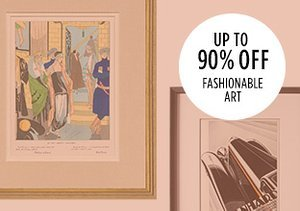 Up to 90% Off: Fashionable Art
