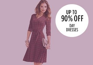 Up to 90% Off: Day Dresses