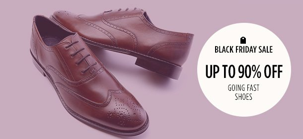 Up to 90% Off: Going Fast Shoes