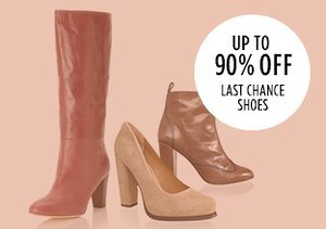 Up to 90% Off: Last Chance Shoes