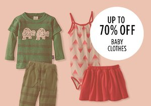Up to 70% Off: Baby Clothes