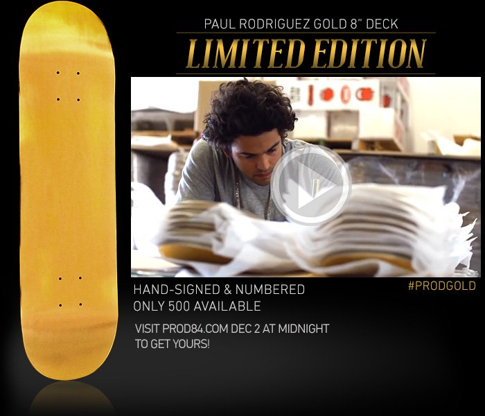 P-Rod Gold Boards
