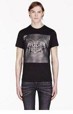 DIESEL JOY Black & Silver Skull T-shirt for men