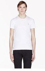 DIESEL White UMTEE-RANDAL Classic T-shirt for men