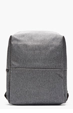 COTE & CIEL Heather grey Minimalist New Flat Rhine Backpack for men