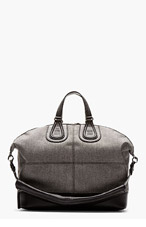 GIVENCHY Grey Flannel NIGHTINGALE tote for men