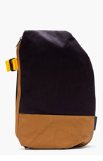 COTE & CIEL Blue Contrast Twin Touch Isar Rucksack for men