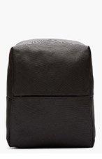 COTE & CIEL Black Minimalist New Flat Rhine Backpack for men
