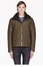ARC'TERYX VEILANCE Green Hooded Jacket for men