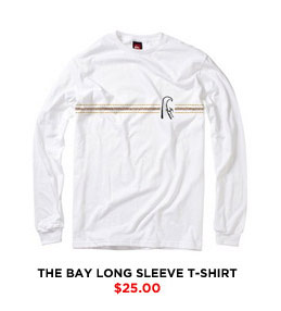 The Bay Long Sleeve T-Shirt $25.00
