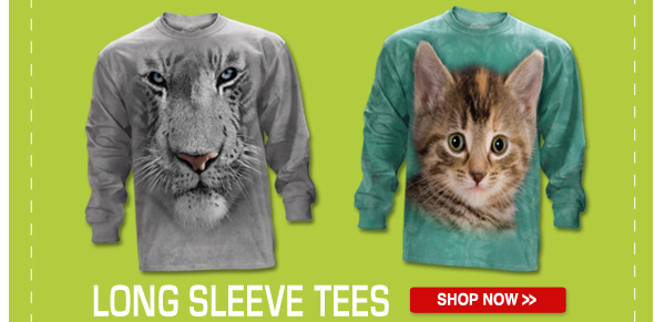 LLONG SLEEVE TEES: Shop now