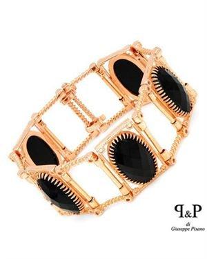 P&P SILVER BY GIUSEPPE PISANO Sterling Silver Bracelet