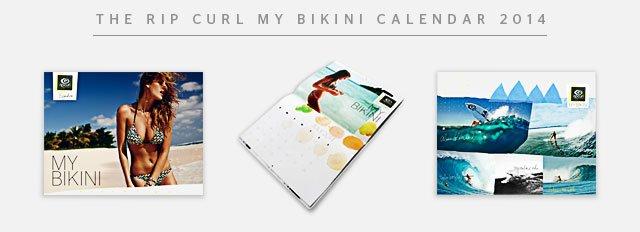 The Rip Curl My Bikini Calendar 2014