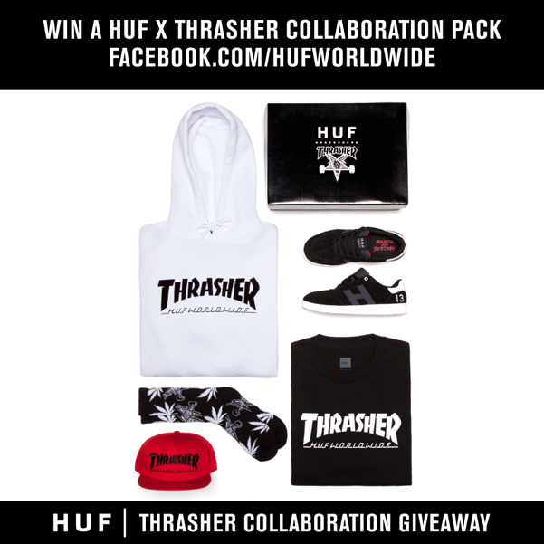 WIN A HUF X THRASHER COLLABORATION PACK