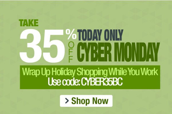 35% Off Cyber Monday Sale