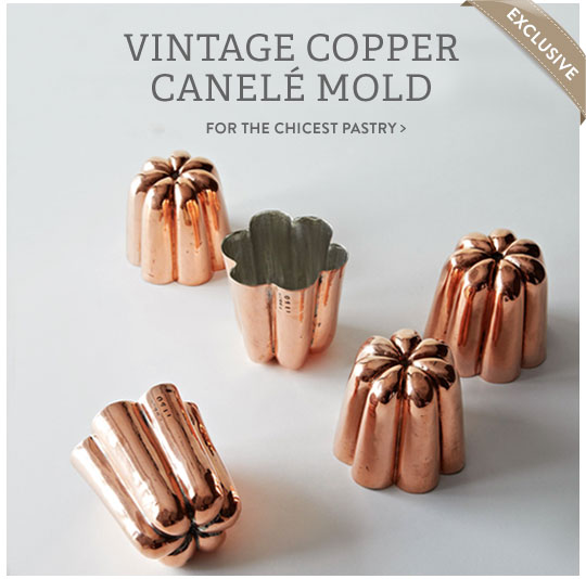 Copper Canele Mold