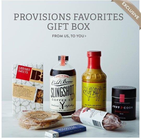 Provisions GIft Box