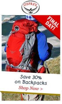 Shop Osprey 30% Off