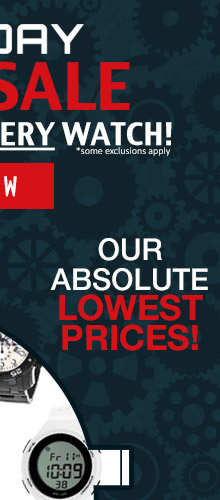 Red Alert Watch Sale