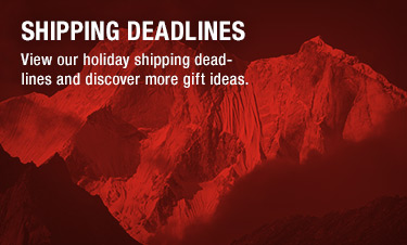 SHIPPING DEADLINES - View our holiday shipping deadlines and discover more gift ideas.