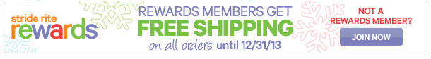 REWARDS MEMBERS get FREE SHIPPING on all orders untile 12/31/13 | join now