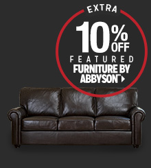 Extra 10% off Featured Furniture by Abbyson**