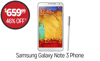 Samsung Galaxy Note 3 Phone - $659.99 - 46% off‡