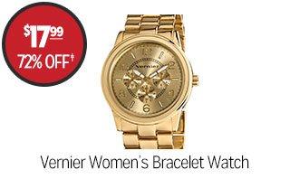 Vernier Women's Bracelet Watch - $17.99 - 72% off‡