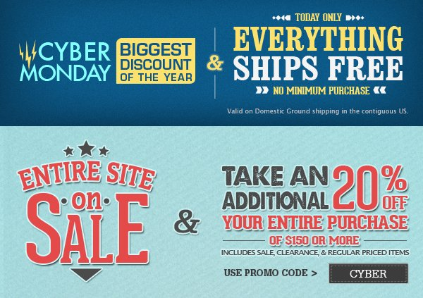 Entire Site on Sale Plus 20 Percent off Coupon