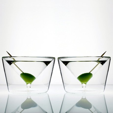 Martini Glasses // Set of 2