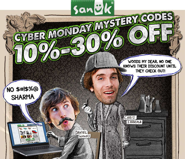 CYBER MONDAY MYSTERY CODES