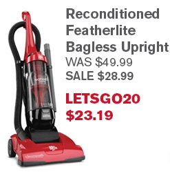 Reconditioned Featherlite Bagless Upright