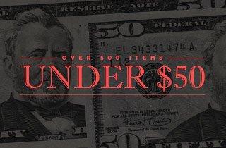 Marketplace: 500 under $50