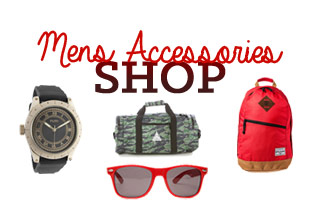 Holiday Shops: Men's Accessories