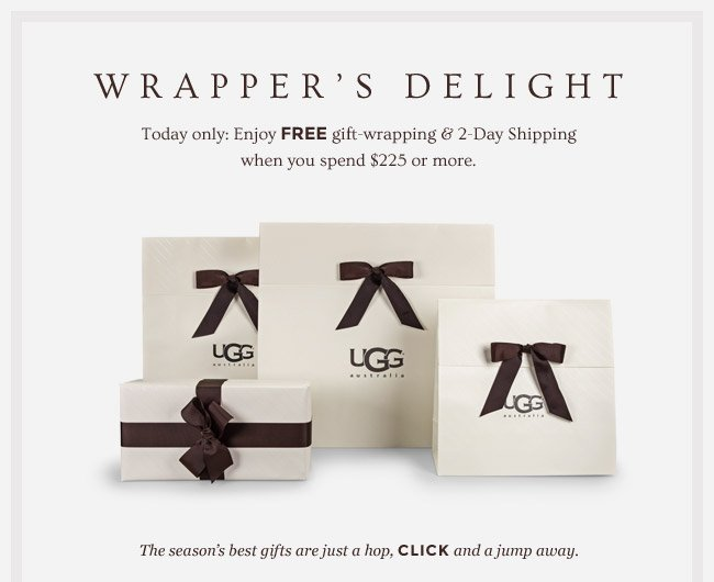 WRAPPER'S DELIGHT - Enjoy FREE 2 -Day Shipping