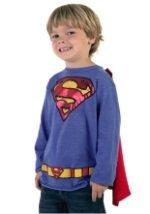 Kids Krypton Hero Royal Blue Superman T-Shirt