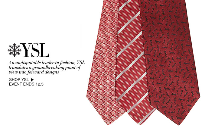 Shop YSL Ties for Men