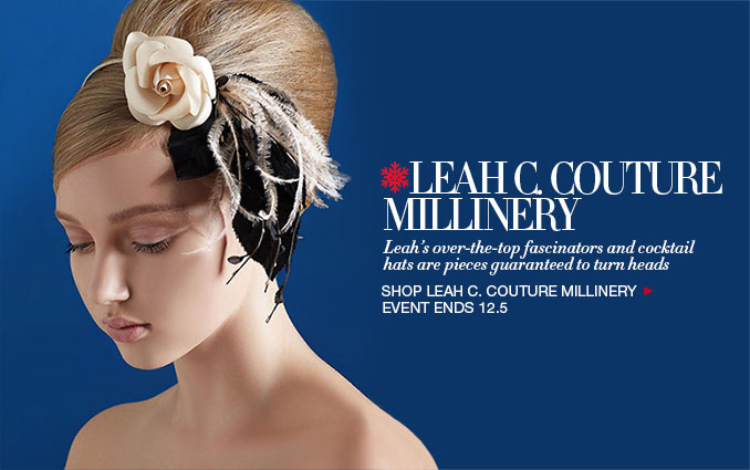 Shop Leah C. Couture Millinery for Women
