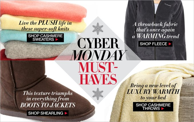 Shop Cyber Sunday Gifts Women