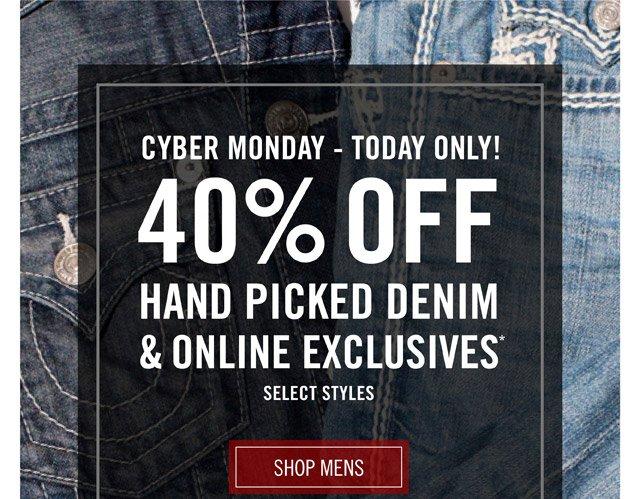 Cyber Monday - Shop Mens