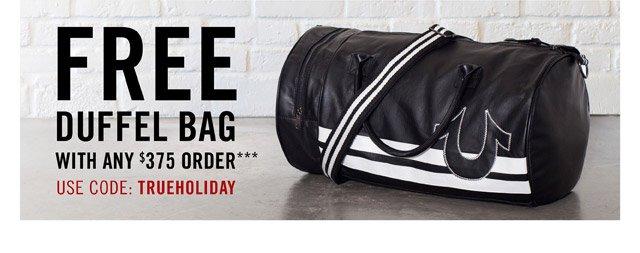 Free Duffel Bag