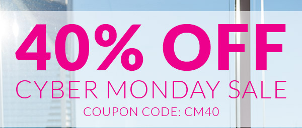 Save 40% Off the Entire Site with Coupon Code CM40!