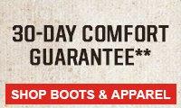 Shop Comfort Guarantee