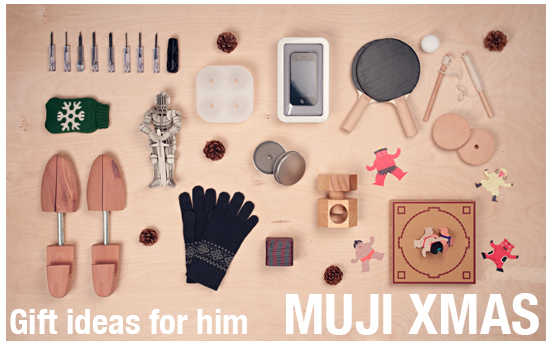 MUJI Xmas - Gift ideas for him