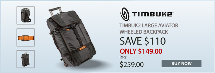 Adorama - Timbuk2 Large Aviater Wheeled Backpack
