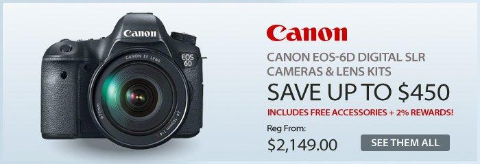 Adorama - Canon EOS-6D Digital SLR Cameras & Lens Kits