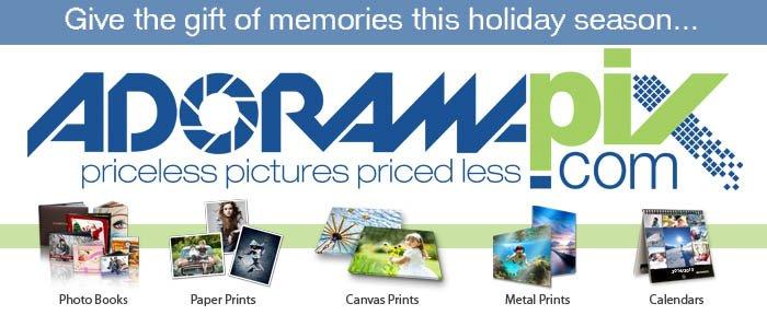 Adorama - Save 20% on Custom Cover Photo Books