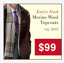 Merino Wool Topcoats - $99 USD