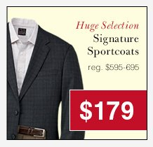 Signature Sportcoats - $179 USD