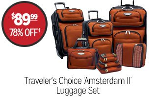 Travler's Choice 'Amsterdam II' Luggage Set- $89.99 - 78% off‡